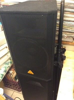 Behringer Eurolive VP1520 Lot Of 2 Giant Professional Speakers ,retail $3000