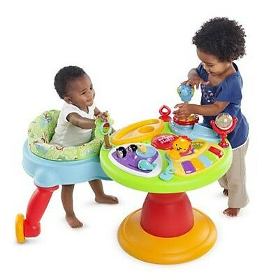 Bright Starts 3in1 Around We Go Activity Center Baby Toddler Learn Safe Play Toy
