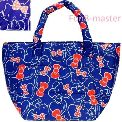 Hello Kitty Insulated Cooler Tote Bag Lunch Box Bento Case Thermal Pouch Handbag