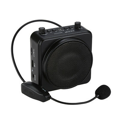 AKER MR2500W 22W BTOOTH Portable PA Voice Amplifier Booster +UHF Headset Mic
