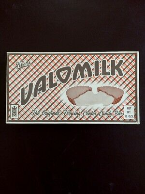 1960's Sifers VALOMILK candy box original In good condition No candy