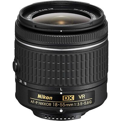 NEW Nikon AF-P DX NIKKOR 18-55mm f/3.5-5.6G VR Lens
