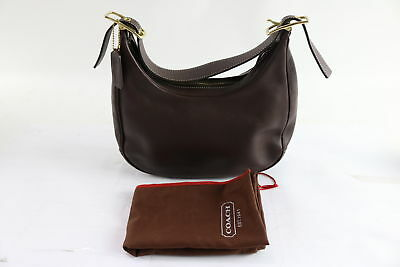 Coach H23-9342 Ladies Brown Leather Hobo Handbag