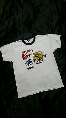 """RaRe Vintage Spuds Mackenzie """"Party's Over"""" COORS LIGHT Shirt 80s Budweiser NEW"""