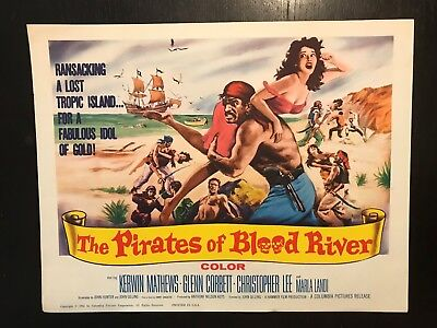 PIRATES OF BLOOD RIVER- Title Card