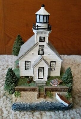 Old Mission Point Lighthouse Michigan 1999 Harbour Lights #1515/10,000