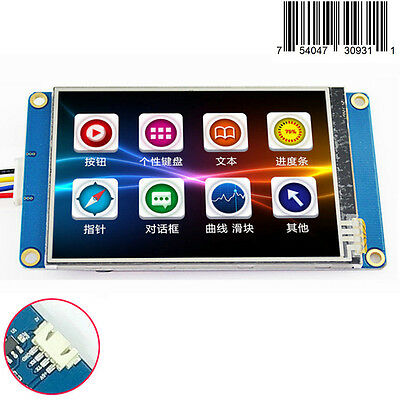 "3.5"" English Nextion HMI Intelligent Smart USART Touch Panel LCD Module Display"