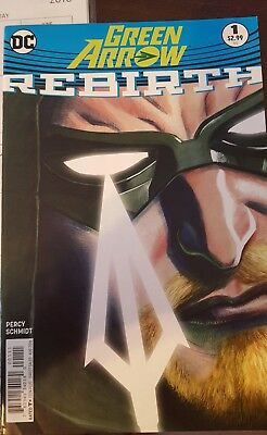 Green Arrow Rebirth #1 Dc Comics
