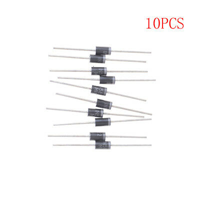 10Pcs 1N5822 IN5822 40V 3A SCHOTTKY DIODE Brand Pip