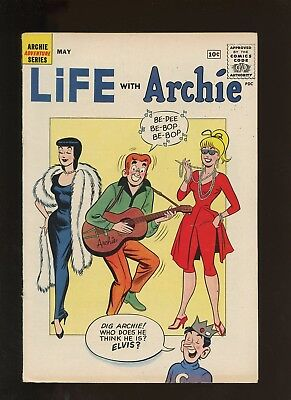 Life with Archie 8 VG 4.0 * 1 Book Lot * Golden Age Classic Archie Comics!