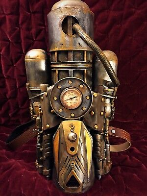 Steampunk Jetpack Costume Fallout Victorian Rocketeer