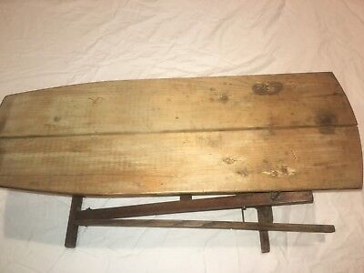 rare antique salesman sample of an early 20th century ironing board