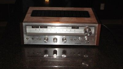 Pioneer Stereo Receiver SX 580, working