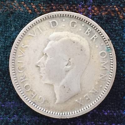 UK / Great Britain 6d Sixpence, Tanner 1940, George VI - F, Silver