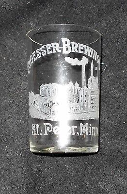 RARE ENGESSER Brewing Co St Peter Minn beer glass