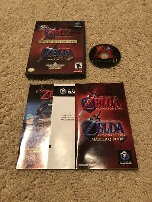 Legend of Zelda Ocarina of Time Master Quest (GameCube, 2003) COMPLETE TESTED