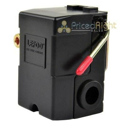 LEFOO Pressure Switch for Air Compressor 95-125 PSI Single Port w/unloader-US