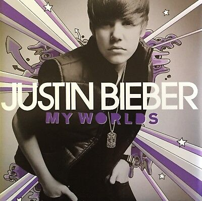 JUSTIN BIEBER My Worlds CD Brand New And Sealed