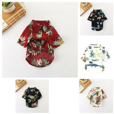 Dog Shirts New Trade Fashion Comfortable Cotton Handsome Puppy Clothing Apparel