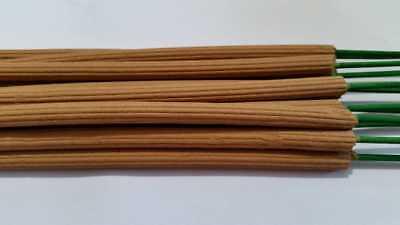 15 Pure Sandalwood Stick Incense - Mosquito Sticks - Tropical Strentgh 3hr burn