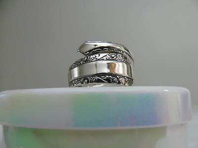 Sterling Silver spoon RING s 7 CANDLELIGHT Jewelry # 6265