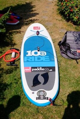 RED PADDLE CO 2016 WINDSUP 10'6 RIDE Stand up Paddle Board, inflatable iSUP