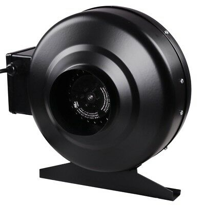 """4"""" Inch Inline Duct Exhaust Fan High-Speed Air Blower Hydroponics Cooling Vent"""