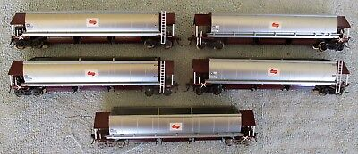 5 x SRANSW NSWGR NSWPTC Coal Hopper NHJF Wagons Carriages by Auscision - HO OO