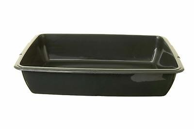 Whitefurze Plastic Medium Cat Litter Tray (From 4 Colours)