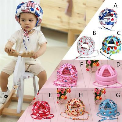 Baby Safety Adjustable Helmet Headguard Head Protector Hat No Bumps Crawling UK