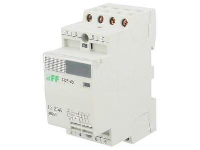 ST25-40 Contactor4-pole Installation 230VAC 25a No X4 Din F And F