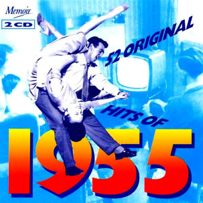 Hits of 1955 - 2 CD Collection - 52 Songs *New & Sealed*