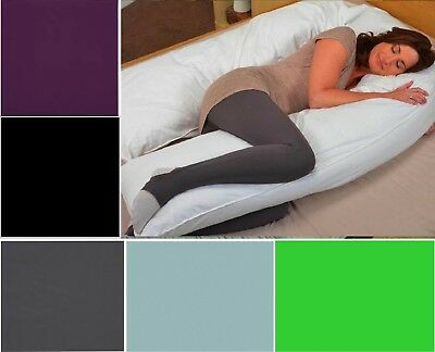 12Ft U Body/Bolster Support Maternity Pregnancy Support Pillow Case