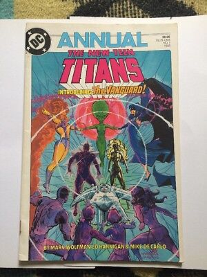 DC Comic No 1 , Titled The New Teen Titans