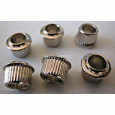 Kluson - MB01C Mechanik Adapterhülsen Nickel 6er-Pack