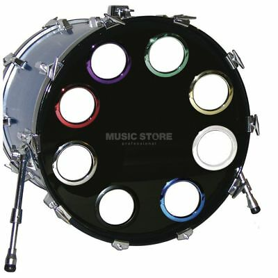"BASS DRUM O´S - BD-Fell Verstärkungsring 4"" Black, HBL4"