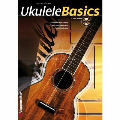 Voggenreiter - Ukulele basics ENGLISH Gernot Rödder, primer, CD