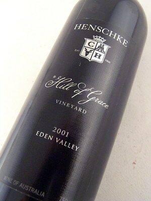 2001 HENSCHKE HILL of GRACE Eden Valley Shiraz ULTIMATE 18th GIFT ISLE OF WINE