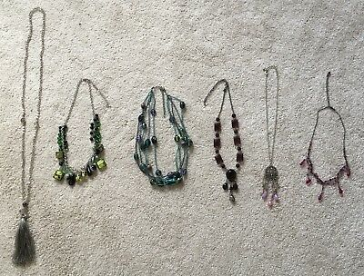 Job Lot Of Mixed Costume Jewellery Necklaces