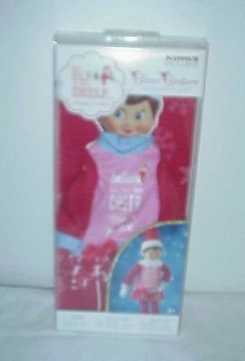 Elf on the Shelf  2017 VERY MERRY NIGHTGOWN Set RETIRED New