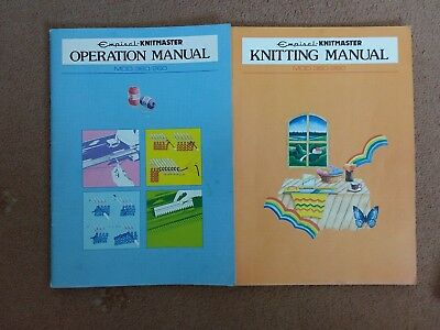 Knitmaster Knitting and Operational Manual..for 360/260