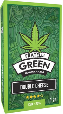 Fratelli Green Double Cheese - 1gr