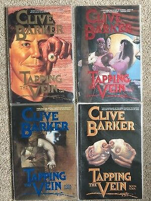 Clive Barker - Tapping The Vein Issues 1-4 - Complete (1989)