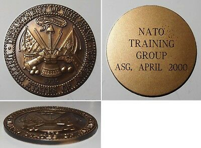 Medaille Department of the Army U.S.A. NATO Training Group ASG April 2000