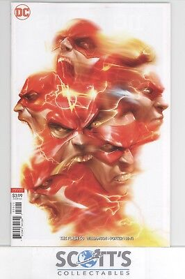 Flash #50 Francesco Mattina Variant New (Bagged And Boarded)  Freepost