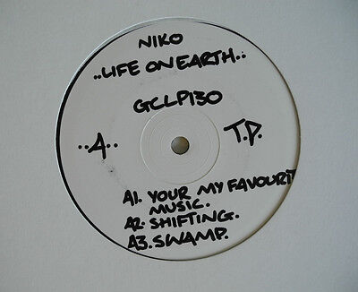 ★★2 x LP UK**NIKO - LIFE ON EARTH (GRAND CENTRAL RECORDS '04/ TEST-PRESS)★★12310