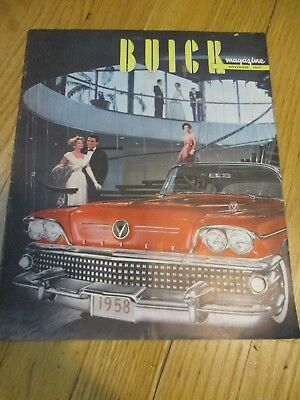 """1957 Buick Magazine Colored Photographs Throughout Excellent Condition  9"""" X 11"""
