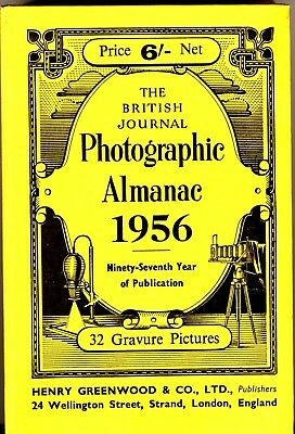 British Journal Photographic Almanac 1956 - 620pp- cameras/adverts/tech info.