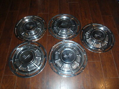 Lot Of 5 Chevrolet 1959 14'' Hub Caps