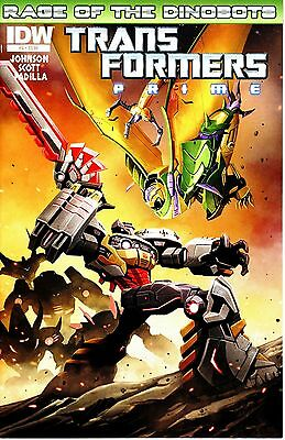 Transformers Prime #4  * First Print *   Rage Of The Dinobots   Nm